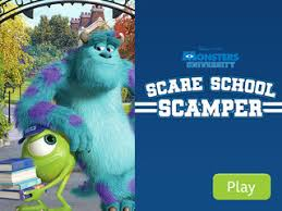 games u0026 activities monsters university disney movies