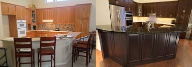 how to refurbish kitchen cabinets resurfacing before and after kitchen cabinet refinishing phoenix az kitchen cabinet refacing phoenix