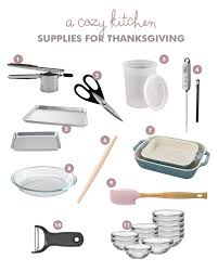 thanksgiving tools and supplies a cozy kitchen