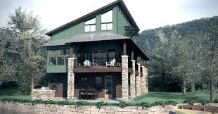lake house plans for narrow lots narrow lot cottage house plans plan narrow lot log cabin house plans
