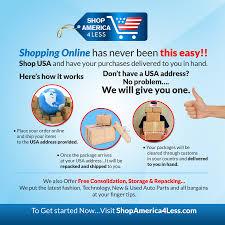 shopping online shop america 4 less inc