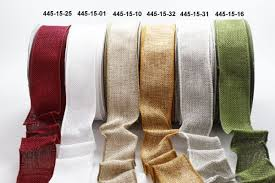 burlap wired ribbon burlap the st simply ribbon store