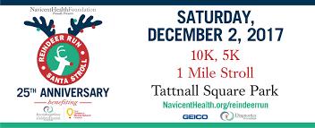 25th annual reindeer run u0026 santa stroll