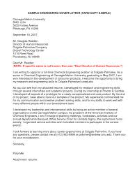 best solutions of entry level chemical engineering cover letter