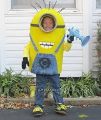 Despicable Minion Costume Coolest Homemade Despicable Minion Costume Homemade Costumes