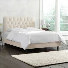 Gray Tufted Headboard Gray Bed Frame Image Of Grey King Bed Frame Fabric Reg Baxton