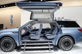 new jeep concept 2018 2018 lincoln navigator previewed with dramatic new york concept