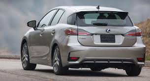 lexus ct200h vs f sport lexus gives 2018 ct 200h a final facelift and drops it from u s