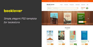 templates for bookshop booklover is psd template by hezytheme themeforest