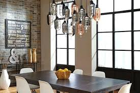 Pendant Lighting For Dining Table Three Pendant Lights Over Dining Table Over Dining Table Lighting