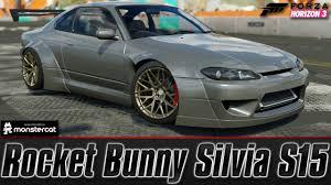 nissan silvia rocket bunny forza horizon 3 demo rocket bunny silvia s15 first impressions