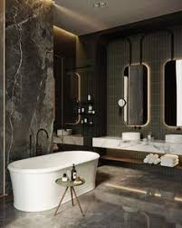 Award Winning Monochromatic Bathroom By Minosa Design by L U0027appartement Parisien De Rodolphe Parente Classical Elegance