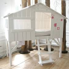loft beds playhouse loft bed with slide great in white w stairs