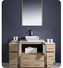 Bathroom Vanity With Side Cabinet Fresca Torino 42
