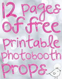printable girly photo booth props photobooth props free download and tutorial free printable