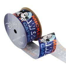 mickey ribbon 1 1 2 inch ribbon fabric