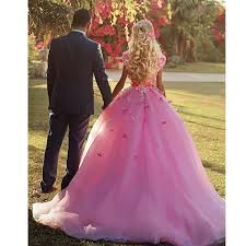 flower prom dresses pink prom gowns 3d flowers evening dresses