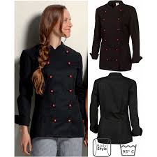veste de cuisine noir veste de cuisine femme manches longues peut bouillir