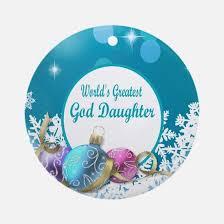 goddaughter ornament cafepress