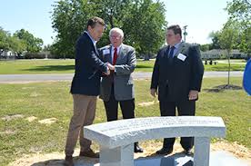 Tree Event Memory Of Jon Huntsman Sr Honored With Tree Planting Bench