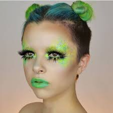 Glitter Halloween Costumes 25 Alien Makeup Ideas Alien Makeup Ideas