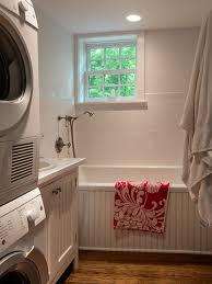 laundry room in bathroom houzz