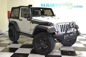 2010 used jeep wrangler 2010 used jeep wrangler 4wd 2dr mountain at haims motors serving