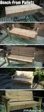 Patio Furniture Made From Wood Pallets -
