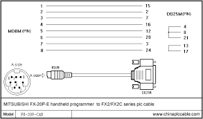 free shopping for fx 20p the e fx2 fx2c series plc cable fx 20p