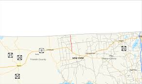 Malone Ny Map New York State Route 189 Wikipedia