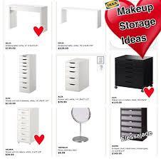 Ikea Vanity Desk Best 25 Ikea Makeup Storage Ideas On Pinterest Diy Vanity