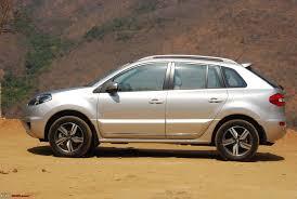 renault koleos 2015 interior test drive 2014 renault koleos facelift team bhp