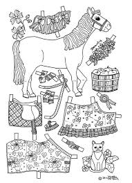 printable paper doll coloring pages free paper doll coloring