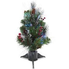 national tree company 3 ft fiber optic fireworks evergreen