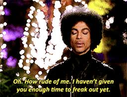 New Girl Meme - prince not only a legendary musician but a hero of new girl
