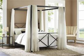 Metal Canopy Bed Metal Canopy Bed With Regard To The House Xhoster Info
