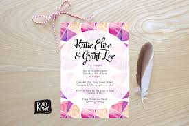 Beautiful Wedding Invitations Five For Friday Bold And Beautiful Wedding Invitations The