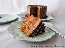 vegan samoa layer cake 23rd birthday cake yummmmmmmmmmmm serves