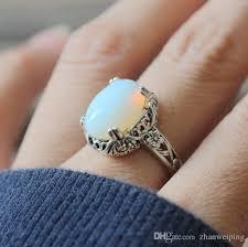 vintage unicorn ring holder images 2018 gorgeous vintage moonstone ring malachite ring classical jpg