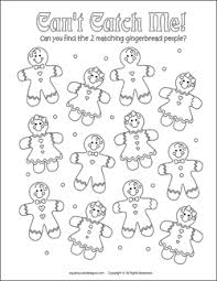 gingerbreadman coloring page kids printable activities christmas coloring pages u0026 puzzles