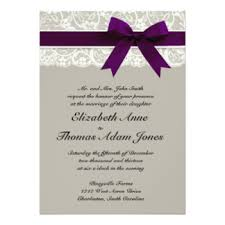 Plum Wedding Plum Wedding Invitations U0026 Announcements Zazzle