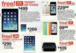 black friday deals on gift cards target black friday sale ipad air for 499 plus 100 gift card