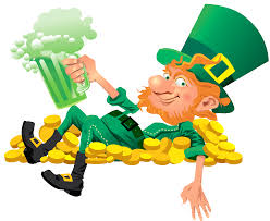 leprechaun beer clip art images free irish pub ideas pinterest