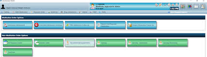 login u0026 main menu overview bluestrata ehr bluestrata ehr help