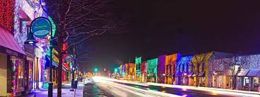 christmas lights in michigan lights michigan history