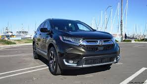 honda crv awd mpg 2017 honda cr v 1 5t awd touring road test review by ben lewis