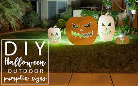 diy outdoor halloween and harvest decor ideas all things thrifty