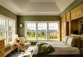 farm house bedroom color scheme gray green red green bedroom