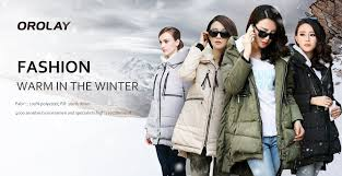 amazon com orolay women u0027s thickened down jacket most wished
