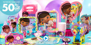 cheap party supplies doc mcstuffins party supplies doc mcstuffins birthday ideas
